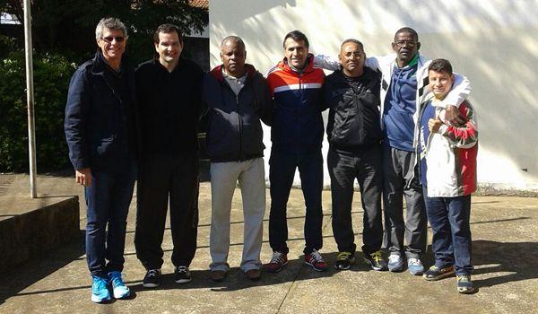 Dirigentes ituanos vistoriam alojamento para os Jogos Regionais 2016