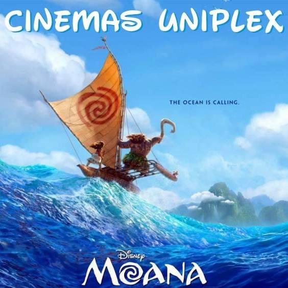 Moana e Minha Mãe é Uma Peça 2 no Cine Uniplex Avaré