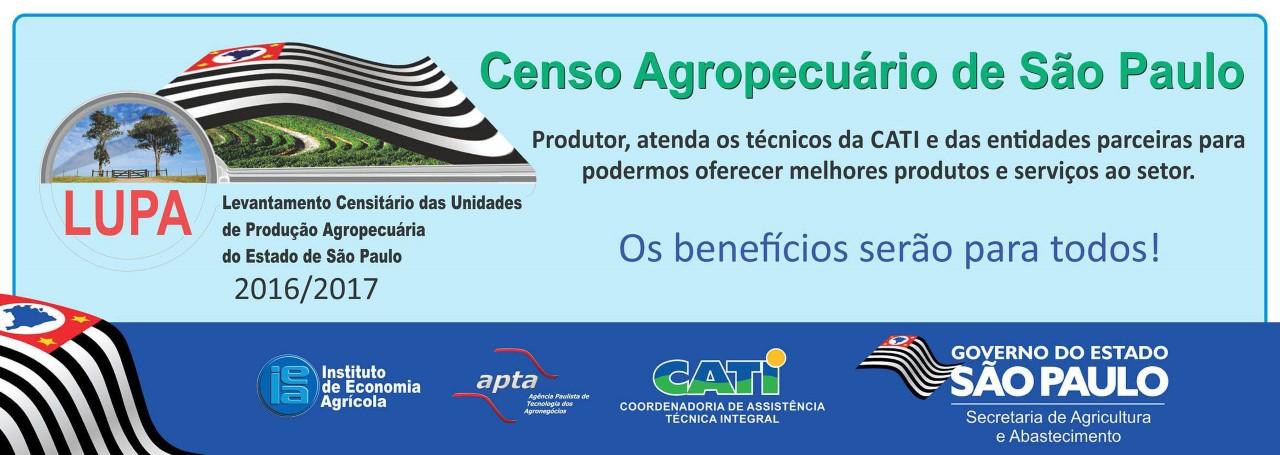 Produtores rurais são chamados para  o censo agropecuário paulista