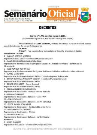 Vereador sugere que Avaré extinga Semanário impresso e mantenha apenas versão eletrônica