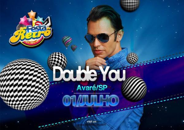 Sucesso nos anos 90, Double You se apresenta Dia 1 julho em Avaré