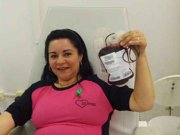 Campanha coleta sangue em Avaré