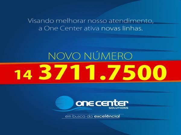 One Center anuncia novo sistema que agilizará atendimento aos clientes