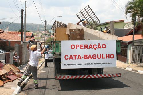 Vereadora pede operação Cata Entulho