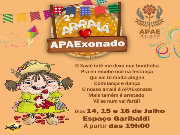 APAE de Avaré realiza mais uma edição do seu Arraiá APAExonado