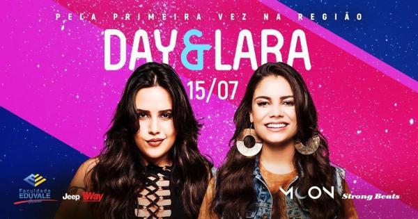 Day & Lara se apresentam pela primeira vez em Avaré