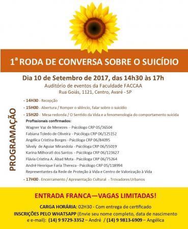 Rede de Proteção a Vida dá início as atividades do Setembro Amarelo
