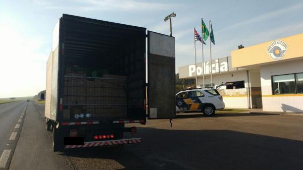 Polícia Rodoviária apreende eletrônicos contrabandeados em Avaré, SP