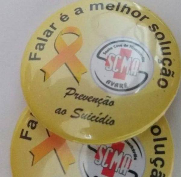 Santa Casa de Avaré adere campanha Setembro Amarelo.