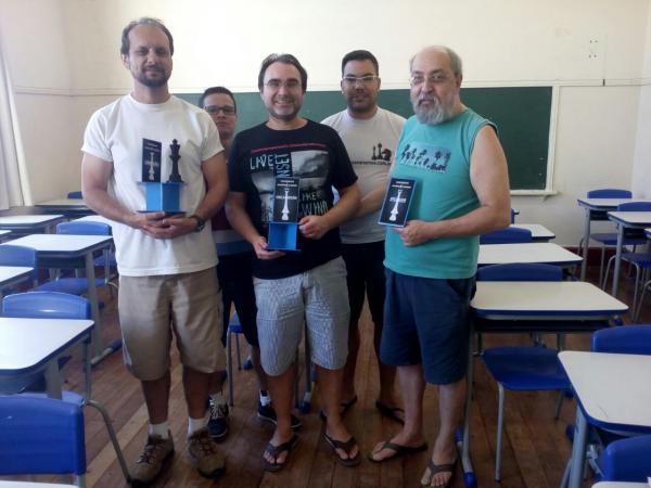 Márcio Sanches é heptacampeão avareense de xadrez