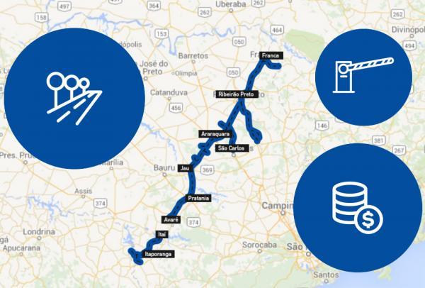 Empresa inicia operação em novo trecho terceirizado de rodovias na região abrangendo 35 cidades