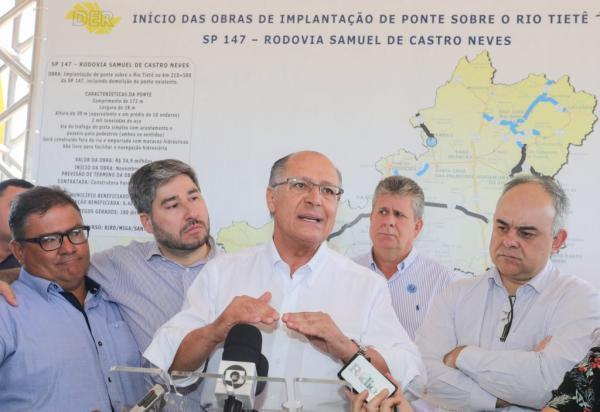 Rio Tietê ganhará uma das maiores pontes da América Latina