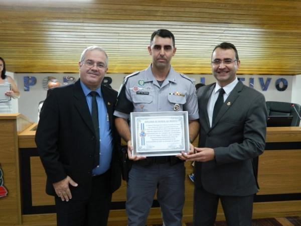 Câmara entrega Diploma de Honra ao Mérito à equipe do TOR