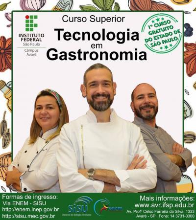Instituto Federal de Avaré oferecerá curso Tecnológico em Gastronomia
