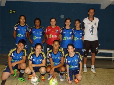 Escolinha de Futsal Feminino recomeça no dia 23