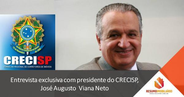 O presidente da CRECI de São Paulo estará em Avaré (SP) hoje