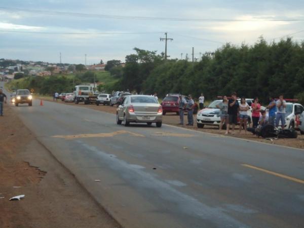 Mulher morre após acidente em rodovia