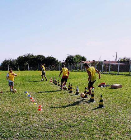 Projeto Novos Talentos se estende ao campo do Fluminense em Avaré