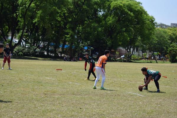 O time de futebol americano de Avaré participa de torneio neste domingo em Jaú (SP)