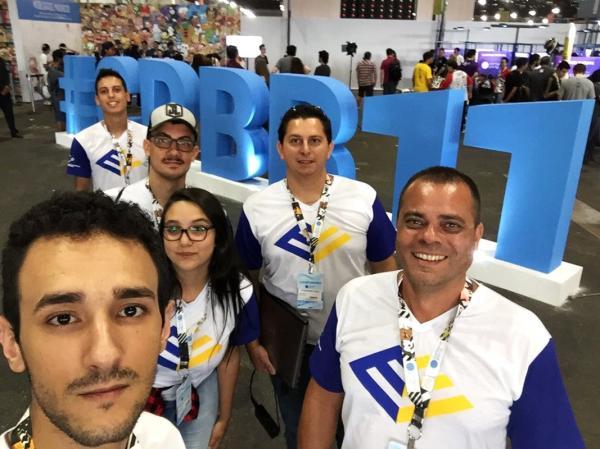 Universitários da Faculdade Eduvale participam da Campus Party Brasil