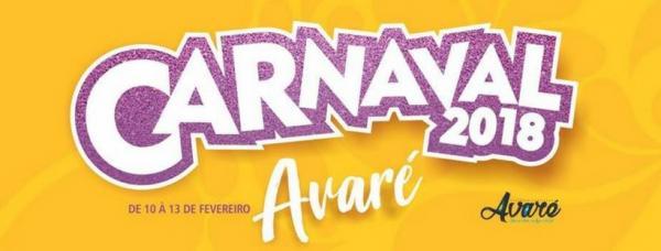 Conheça a Programação do Carnaval 2018 de Avaré