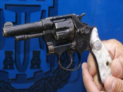 Homem é preso com uma arma no Carnaval em Águas de Santa Bárbara (SP)