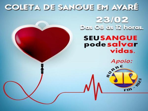 Faculdade Eduvale de Avaré apoia campanha de doação de sangue