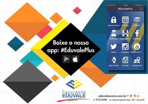 Faculdade Eduvale disponibiliza app gratuito para Android e iOS