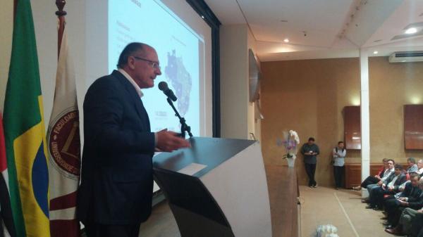 Alckmin participa de aula inaugural da Faculdade de Medicina da USP, em Bauru