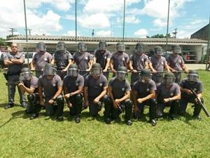 Polícia Militar de Avaré realiza treinamento de Distúrbios Civis