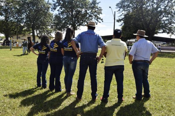 Zootecnia Eduvale estagia em evento da Associação do Cavalo Mangalarga