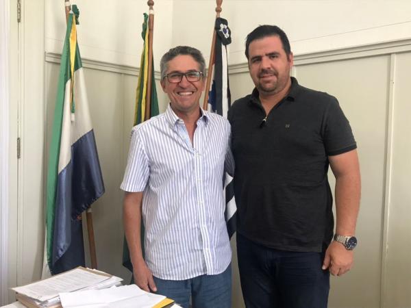 Vice-presidente da ABQM se reuniu com o Prefeito