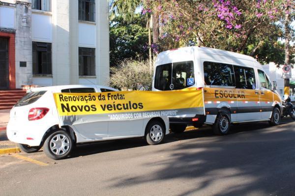 Prefeitura de Avaré adquire mais dois veículos 0 km