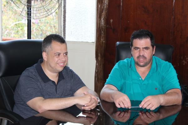 Prefeito recebeu a visita do Deputado Estadual Wellington Moura, vice-presidente da comissão de orçamento da ALESP