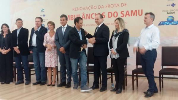 Cerqueira César foi contemplado com a renovação da unidade móvel do SAMU.