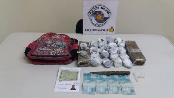 PM prende irmãos por tráfico de droga em Avaré