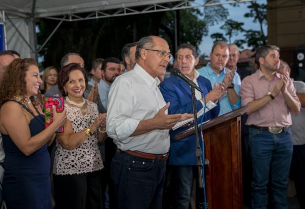 Alckmin entrega obras da Rede Lucy Montoro e do AME Mais, além da primeira pinacoteca do interior do estado em Botucatu