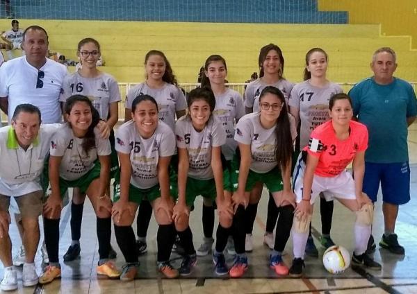 Futsal feminino de Avaré se classifica nos Jogos Abertos da Juventude