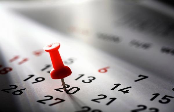 Datas alteradas no mês de abril em Avaré