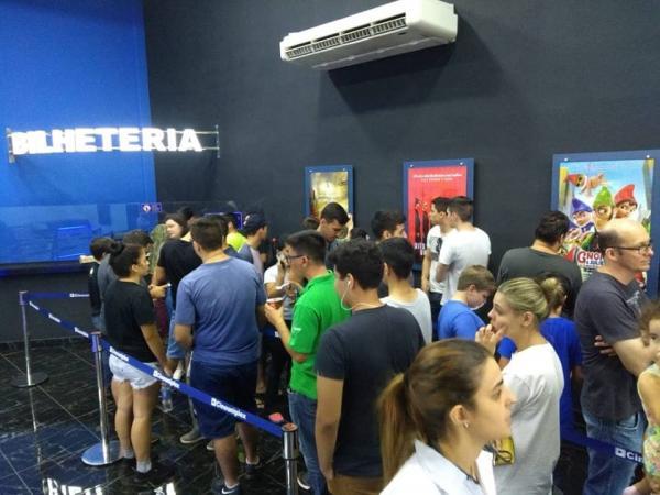 Cinema Uniplex Mall inaugura com grande público em Avaré