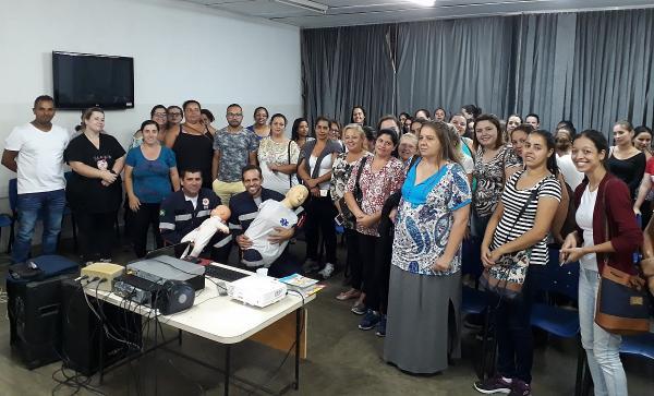 Profissionais da Educação receberam treinamento