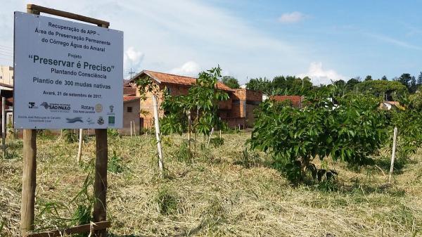 """Meio Ambiente promove o projeto """"Preservar é preciso"""""""