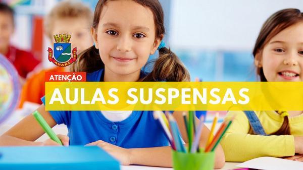 Prefeitura de Avaré suspende aulas em toda a rede municipal de ensino