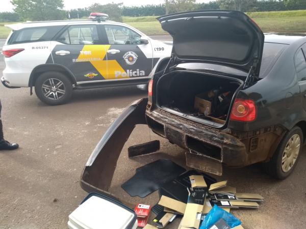 Motorista é preso em Avaré com mais de 20 câmaras fotográficas do Paraguai
