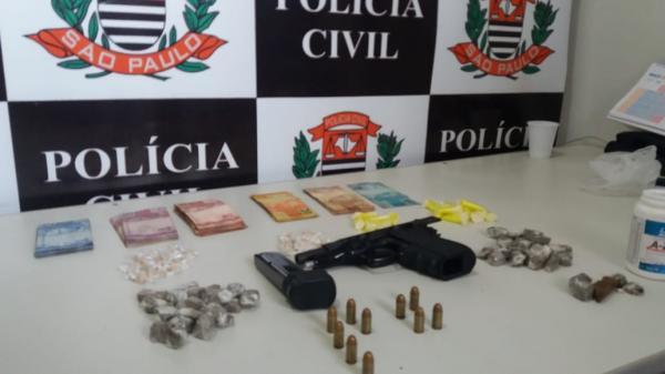Polícia Civil prende mais dois suspeitos de tráfico em Piraju
