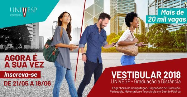 UNIVESP abre inscrições para Cursos Superiores gratuitos em Cerqueira César
