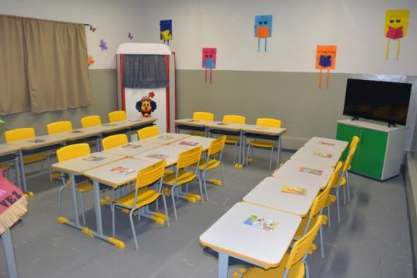 Rubião Junior ganha mais cem vagas com novo Centro de Educação Infantil