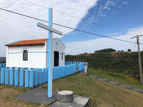 Capela de São Cristovão na serra de Botucatu está novamente aberta à visitação