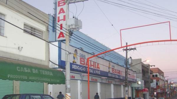 loja das Casas Bahia é alvo de tentativa de furto em Avaré