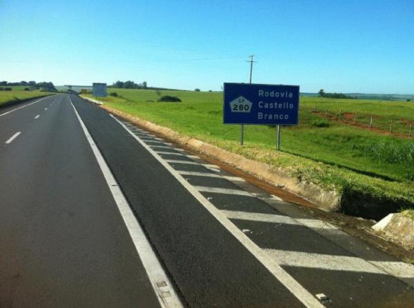 Rodovia Castello Branco – Acesso a Ourinhos pelo km 315 da SP 280 é desviado